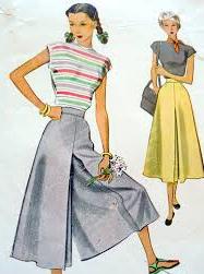 Vintageculottepattern (